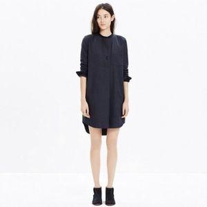 Gray Flannel Latitude Shirt Dress (wool blended)
